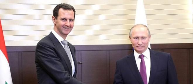 Putin declaro que estaba en contacto con el Kremlin Assad,