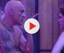 Ayrton parte para a agressão à filha após vê-la rebolar e pode deixar o ''BBB''