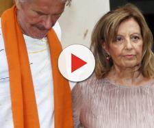 Bigote Arrocet no visita a María Teresa Campos.