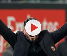 Gennaro Gattuso scatenato a San Siro