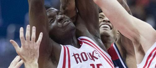 Clint Capela has helped guide the Rockets to the league's best record. Image Source: Flickr | Keith Allison
