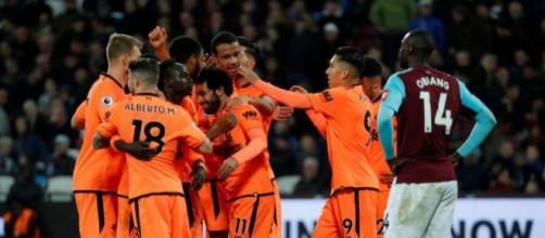 Deportes-Liverpool golea 4-1 al West Ham de 'Chicharito' Hernández - eldiarioangelopolitano.com