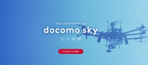 Docomo Sky y su tecnología en drones.
