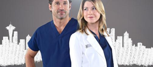 Meredith Grey y Derek Shepard de Grey's Anatomy