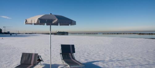 In Sardegna è attesa la neve anche a 200 metri dal mare.