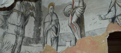 La Fundación Santa María comienza la restauración de los frescos ... - lacomarca.net
