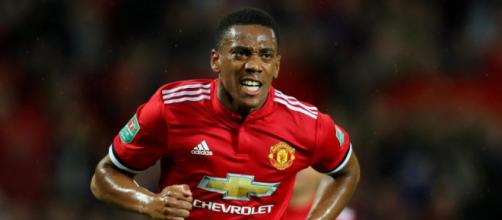 Speculation surrounding Martial's future at the club has increased in recent weeks... image- thesun.co.uk