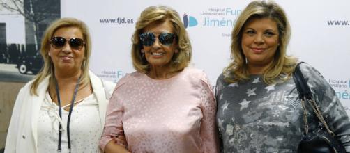 Primeras palabras de María Teresa Campos tras abandonar el hospital