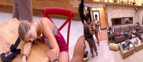 Jéssica desmaia no ''Big Brother Brasil 18''