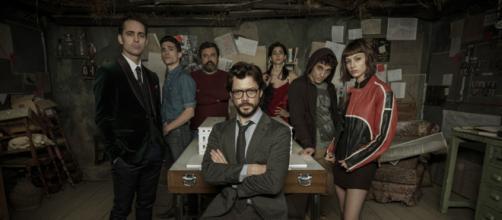 Protagonistas de 'La Casa de Papel'