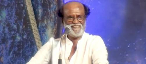 Rajinikanth: Image via Behindwoods/YouTube screencap