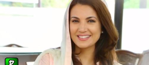 Reham Khan ex wife of Imran claims she left for death threats photo (Image credit- Pakilinks News-Youtube)