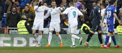 Y Ronaldo recompensó los esfuerzos de su compañero contra Alavés