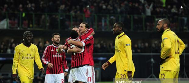 AC Milan v Arsenal FC - UEFA Champions League Round of 16 Photos ... - gettyimages.com