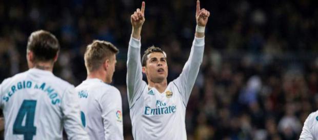 Cristiano Ronaldo y el Madrid avisan al PSG con goleada en el ... - diez.hn