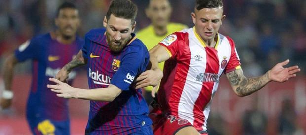 El duelo de Messi contra Maffeo