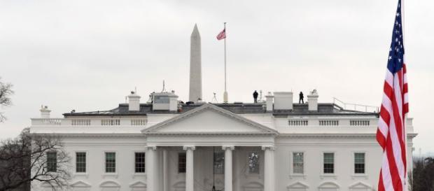La casa blanca donde ocurre el accidente