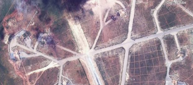 Los satélites reflejan limitados efectos tras el ataque a la base ... - elpais.com