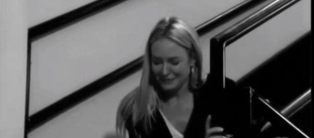 Sharon may break Nick's heart again. [Image source: AW Newport/YouTube screenshot]