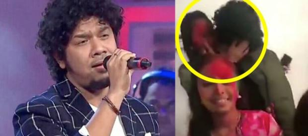 Singer Papon faces case for kissing minor girl- Photo-image credit home Bollywud-Youtube.com