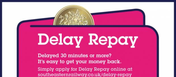 This is Southern Rails enticement for you to claim delay repay: they don't say there will be further delay ... - Picture courtesy of twitter.com