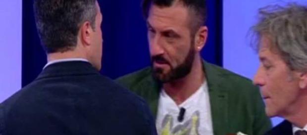 Uomini e donne Sossio litiga con Riccardo via Bitchyf.it