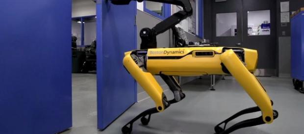 YouTube: Los perros robot de Boston Dynamics ya pueden abrir puertas - lavanguardia.com