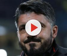 Gattuso faccia sorridente alla fine