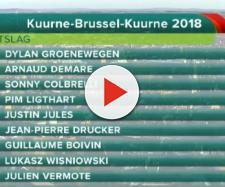 La classifica della Kuurne Bruxelles Kuurne