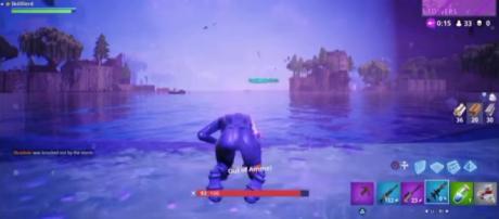 A screenshot from 'Fortnite' - YouTube/Soy Effectiivez