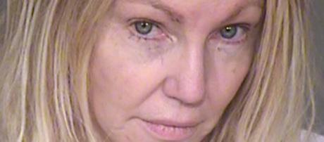Heather Locklear arrested for domestic violence. [Image Credit : Ventura Sheriff Department]