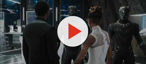 """Black Panther"" has an alternate ending [Image via Marvel Entertainment/Youtube screencap]"