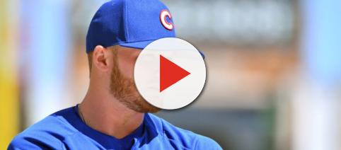 Like most rookies, Ian Happ is facing an early test at the plate [Image via The Athletic/YouTube]