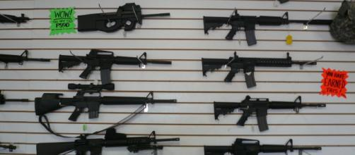Automatic weapon restrictions plus mental health screenings maybe the answer. - [Photo courtesy of Wikimedia Commons via flickr]