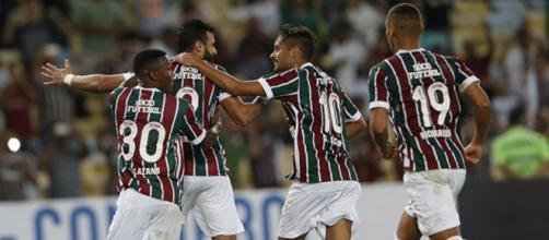 El Fluminense se llevó el clásico con goleada