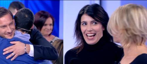 Francesco Totti e Giorgia: ospiti d'eccezione a C'è Posta Per Te