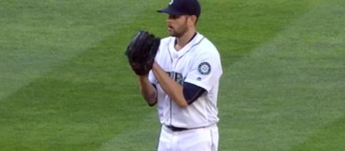 James Paxton pitching for the Seattle Mariners. - [MLB / YouTube screencap]