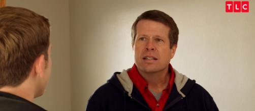 Jim-Bob Duggar is not happy. [image source: TLC/YouTube screenshot]