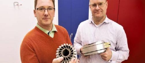 Los objetos del material se fabrican en impresoras 3D.