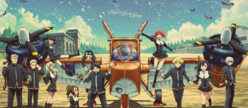 The Pilot's Love Song the anime
