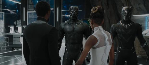 """Black Panther"" has an alternate ending [Image via Marvel Entertainment/Youtube screencap]"