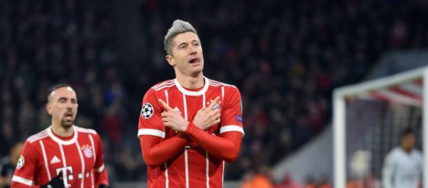 Der FCB zählt auf die Treffer von Robert Lewandowski (Quelle: tz.de)