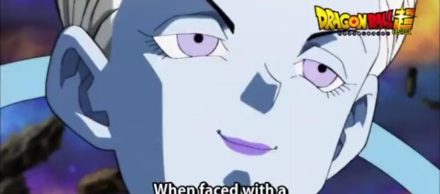 'Dragon Ball Super' shows Whis smiling and proud.[Image Credit: Terez/Twitter]