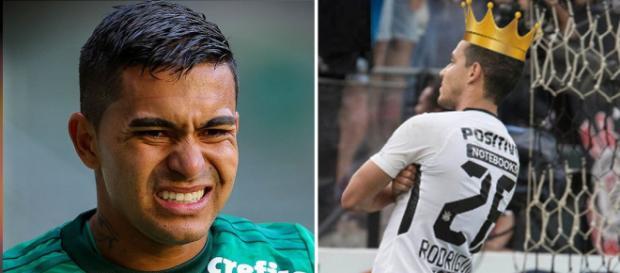 Dudu - jogador do Palmeiras 2018