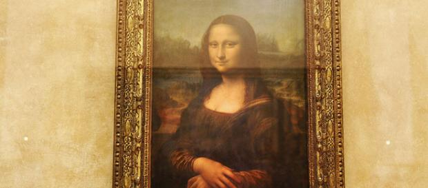 La Gioconda esposta al Louvre di Parigi