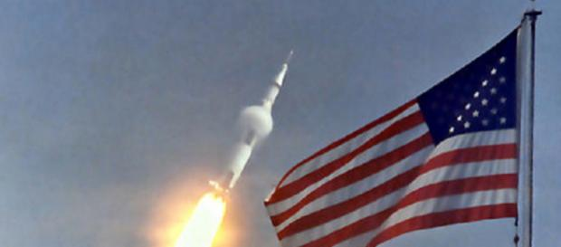 Launch of Apollo 11 [image courtesy NASA]