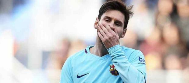 Leo Messi continua deslumbrando em suas partidas