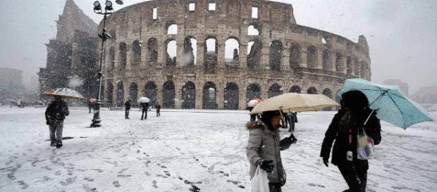 Maltempo: ecco il Burian. Neve attesa a Roma.