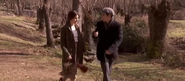 """Una scena della soap opera """"Il segreto"""""""