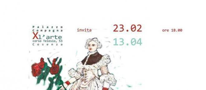 Mostra al Palazzo Compagna dell'artista italo-americana Fiorentina Giannotta
